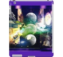 Looking to the future and to the past iPad Case/Skin