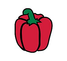Bell pepper Photographic Print