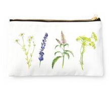 Tea Flowers Studio Pouch