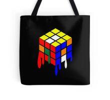Dripping Cube Tote Bag
