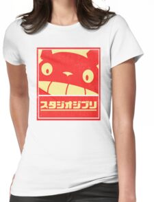 Ghibli Womens Fitted T-Shirt