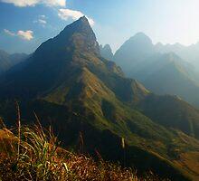 Hoan Lien Son Range near 3.143m Mt Fansipan, via Sapa by Bev Pascoe