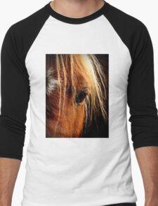 Sunset Horse Men's Baseball ¾ T-Shirt