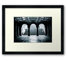 Bethesda Terrace, Central Park, New York City Framed Print