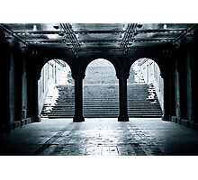 Bethesda Terrace, Central Park, New York City Photographic Print