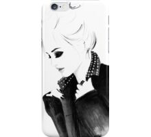 Punky Topknot iPhone Case/Skin