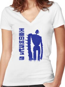The Golem Women's Fitted V-Neck T-Shirt