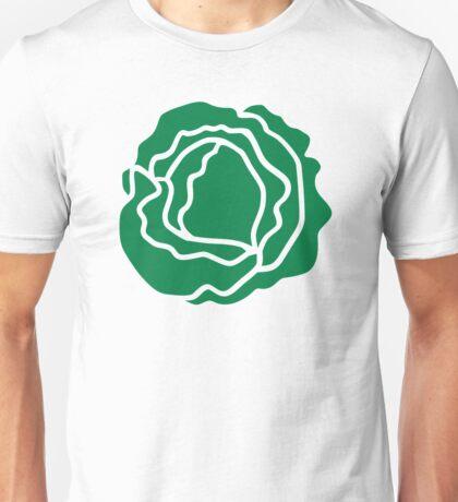 Green salad lettuce Unisex T-Shirt