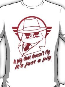 Red Pig  T-Shirt