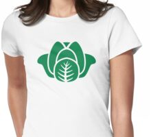 Green salad Womens Fitted T-Shirt