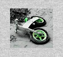 Green Wheels and Black Tyres  Unisex T-Shirt