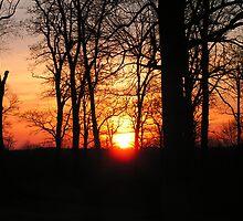 Autumn Sunrise by Kevin Hubbard