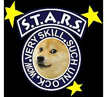 Doge S.T.A.R.S. Photographic Print