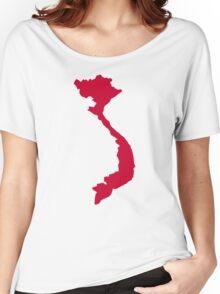 Vietnam map Women's Relaxed Fit T-Shirt