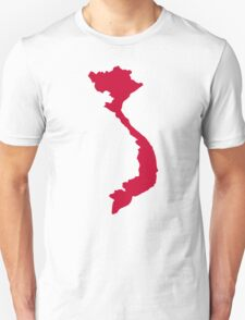 Vietnam map T-Shirt