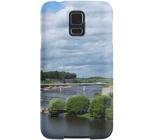 confrontation medieval fortress of Narva and Ivangorod fortress Samsung Galaxy Case/Skin