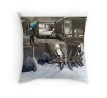 Berry Boy in Rotterdam. Throw Pillow