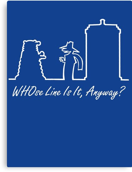 WHOse Line Is It, Anyway? by ToneCartoons