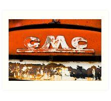 GMC Art Print