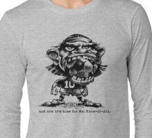 Soccer Big Mouth Long Sleeve T-Shirt