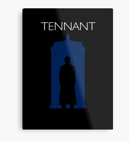The Tenth Doctor Metal Print
