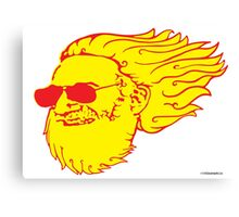 Jerry Flame Canvas Print