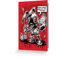 RvB - Not you average easter bunny Greeting Card