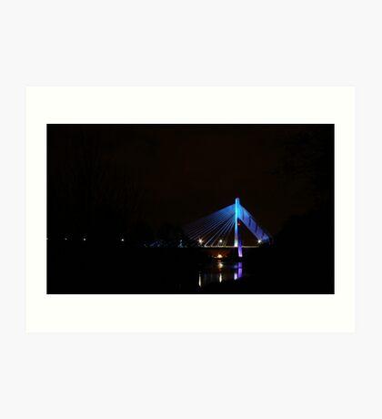 Bridge @ Drogheada Co Louth. Art Print