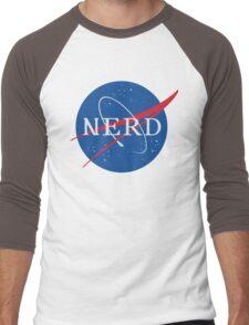 NASA Nerd Men's Baseball ¾ T-Shirt