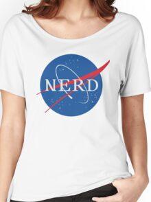 NASA Nerd Women's Relaxed Fit T-Shirt