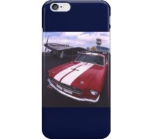 Two Mustangs, Point Cook Airfield, Victoria, Australia iPhone Case/Skin
