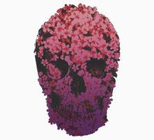 Floral Skull by MZawesomechic