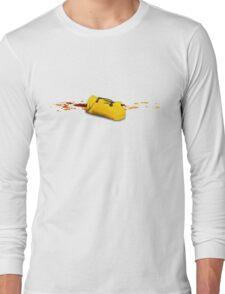 A yellow utopic bag Long Sleeve T-Shirt
