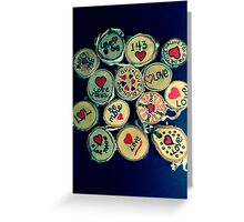 Love Tokens Greeting Card
