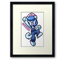 Super Gigi World Framed Print