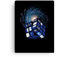 TARDIS CUBE Canvas Print