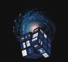 TARDIS CUBE by ToneCartoons