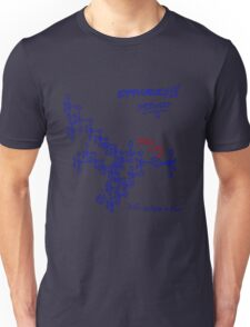 Optimal tip to tip efficiency - From the middle out  Unisex T-Shirt