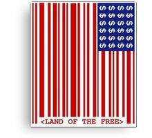 <Land of The Free> Canvas Print