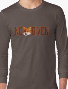 Funny - No Fox Given Long Sleeve T-Shirt