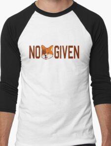 Funny - No Fox Given Men's Baseball ¾ T-Shirt
