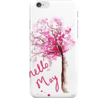 Hello May iPhone Case/Skin