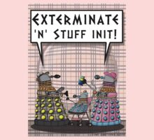 Chav Daleks Kids Clothes