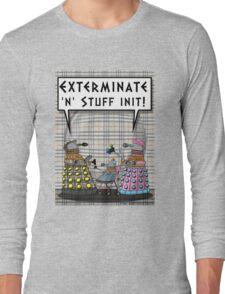 Chav Daleks Long Sleeve T-Shirt