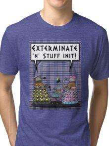 Chav Daleks Tri-blend T-Shirt