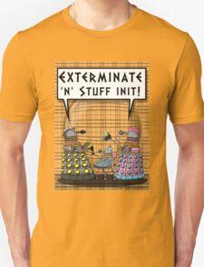 Chav Daleks Unisex T-Shirt