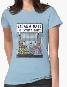 Chav Daleks Womens Fitted T-Shirt