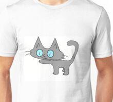 Petite Gray Kitten Unisex T-Shirt