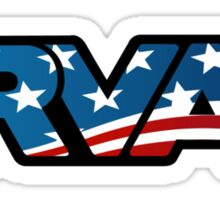 RVA Logo - American Flag Sticker