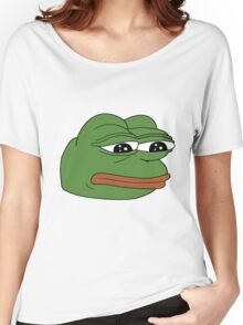 Pepe the Sad Frog Women's Relaxed Fit T-Shirt